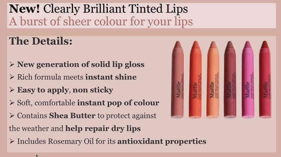 Pin by kelly dowsett on maelle lip tint how to apply