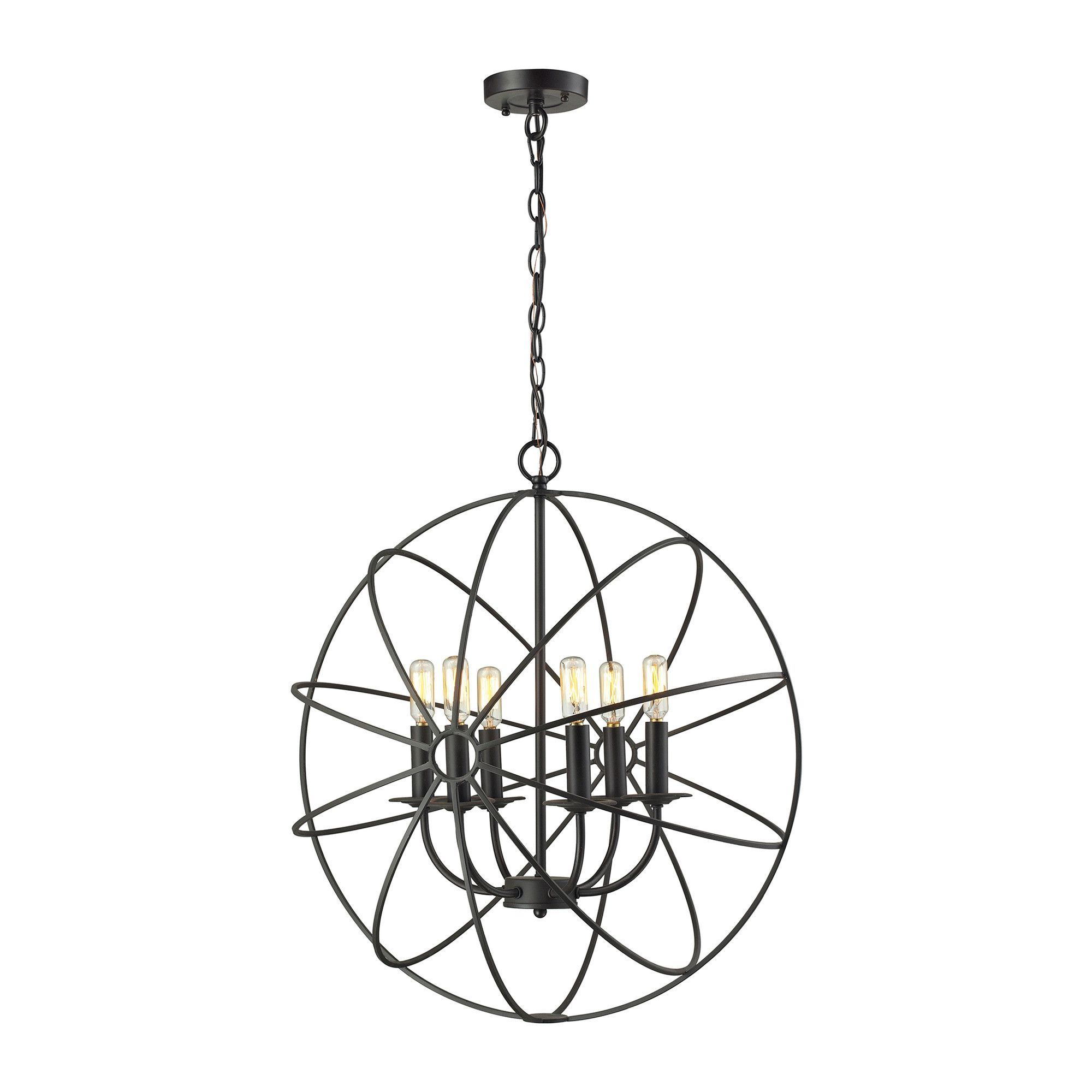Dublin 6 Light Candle Chandelier | Products | Pinterest | Products