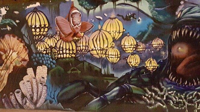 Arte en  la  calle desde Las Canteras