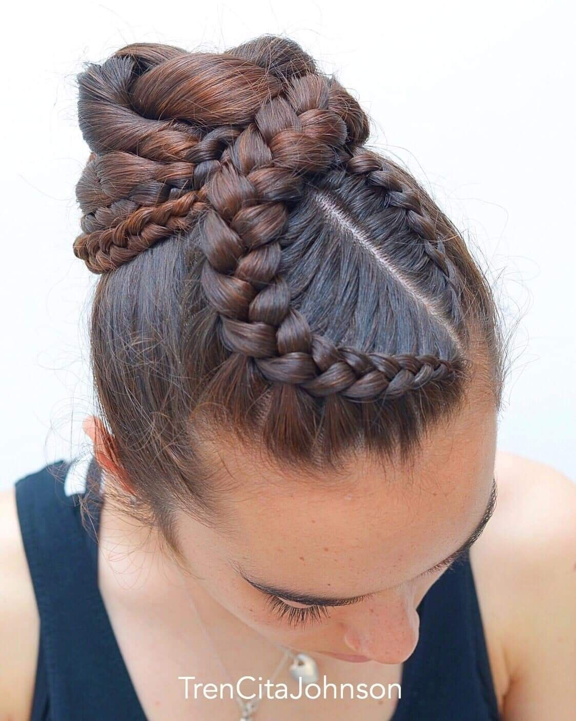 Pin By Jose Piqueras Montalvo On Trenzas In 2020 Hair Styles Womens Hairstyles Braided Hairstyles