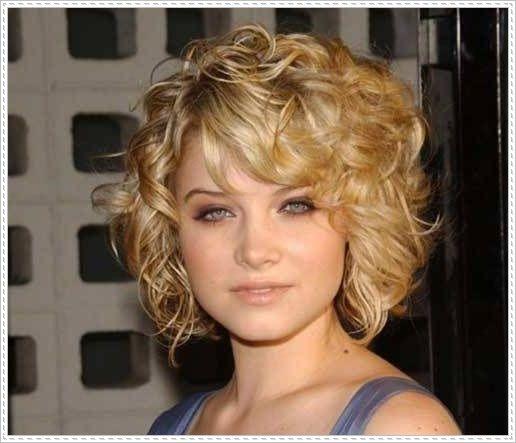2015 Short Hairstyles Mesmerizing Trendy Curly Hairstyles For Short Hair With Bangs  Curly Hairstyles