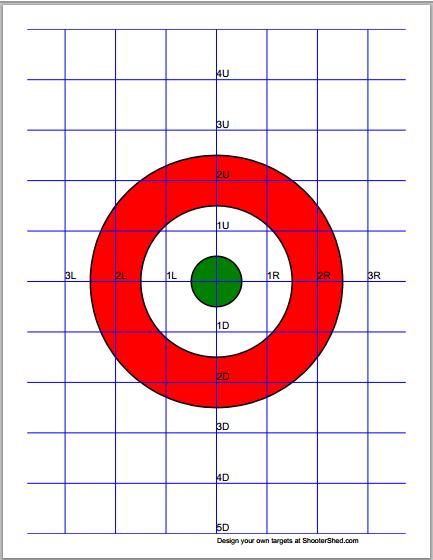 target pdf generator free bullesye benchrest targets pinterest