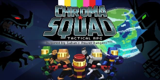 Chroma Squad Review Spandex Warriors Squad, Games