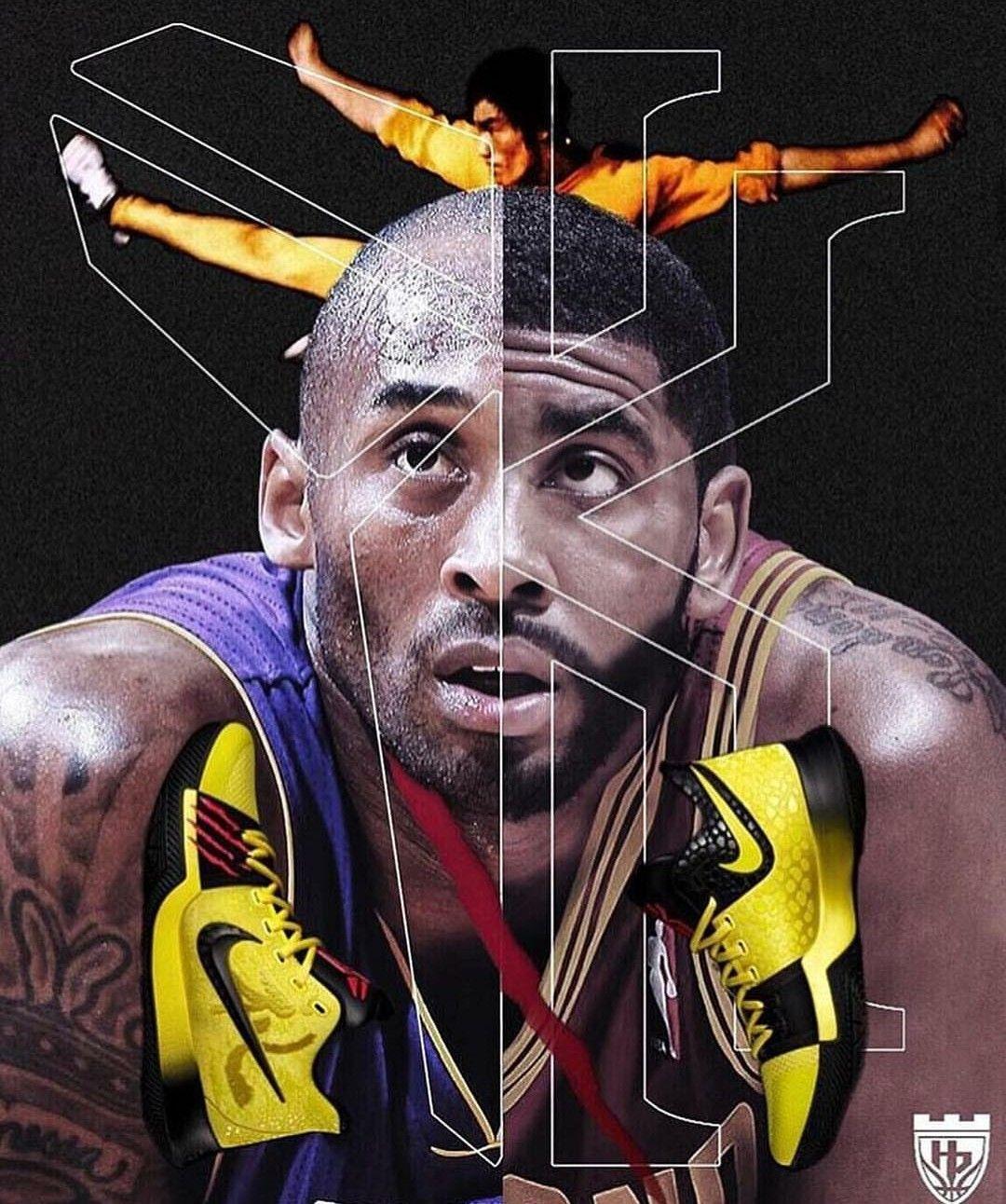Kobe Bryant, Kyrie Irving. Basketball ...