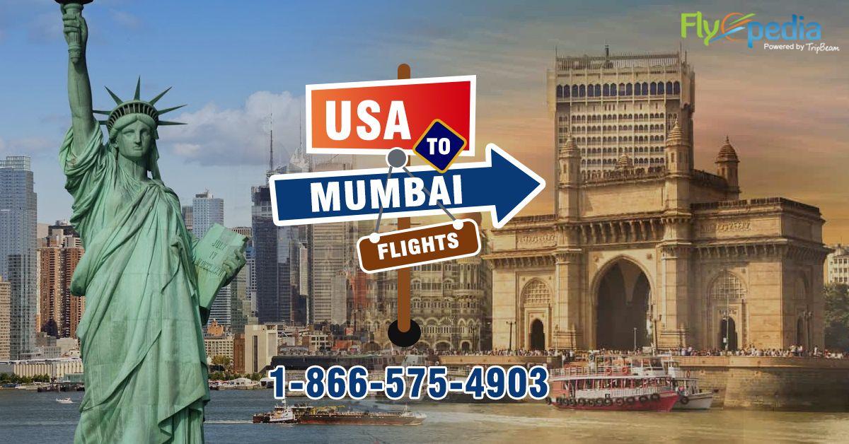 Online Flight Tickets to Mumbai from USA Air tickets