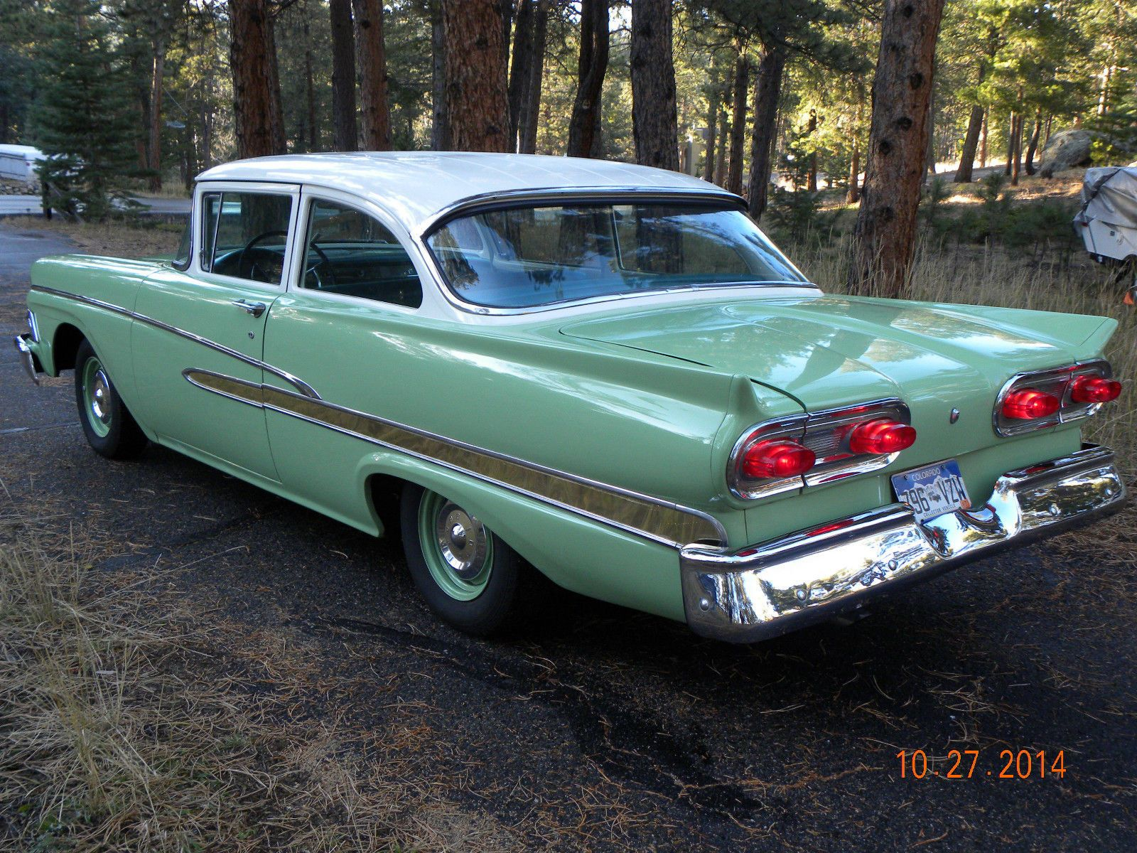 1958 Ford Custom 300 Tudor Sedan With Images Ford Classic Cars