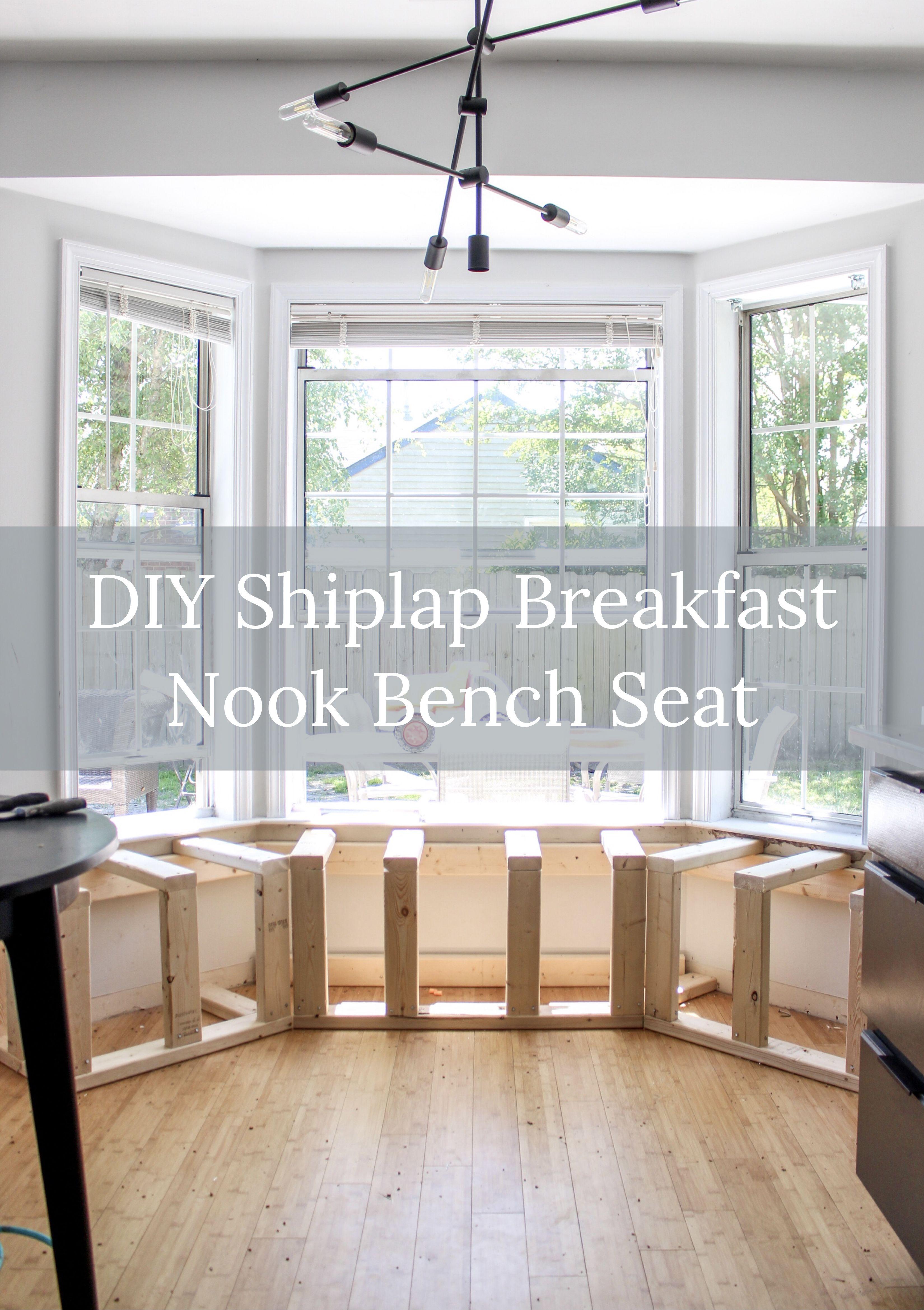 Breakfast Nook Bench Seat DIY
