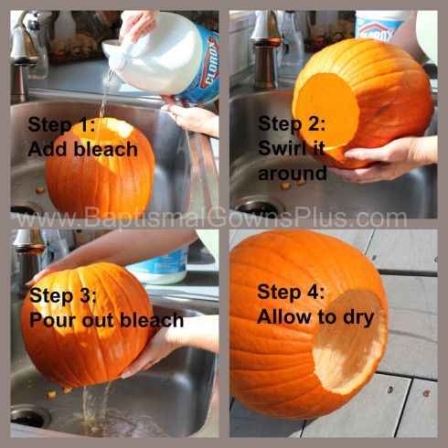 How to DIY Pumpkin Vase or Planter