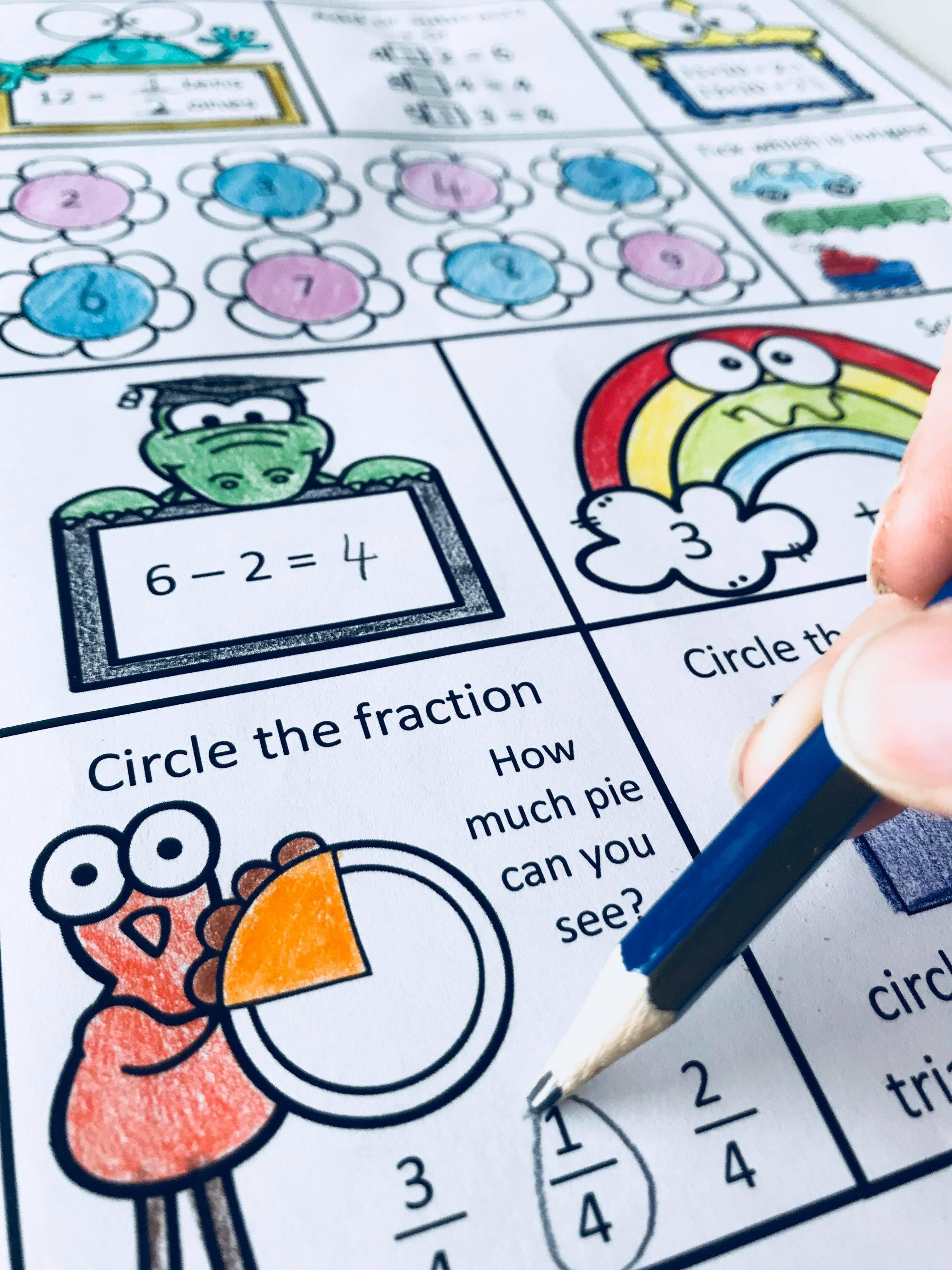 Math Homework Worksheets For First Grade