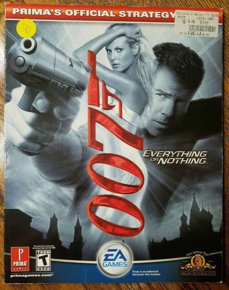 James Bond 007 Everything Or Nothing Prima Video Game Guide Ea