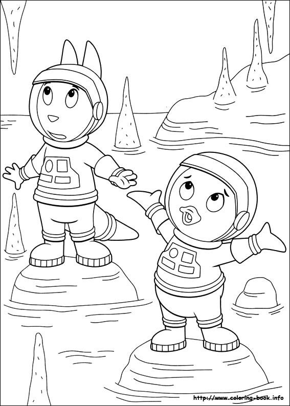 Pin de FunCraft DIY en COLORING PAGES BACKYARDIGANS | Pinterest