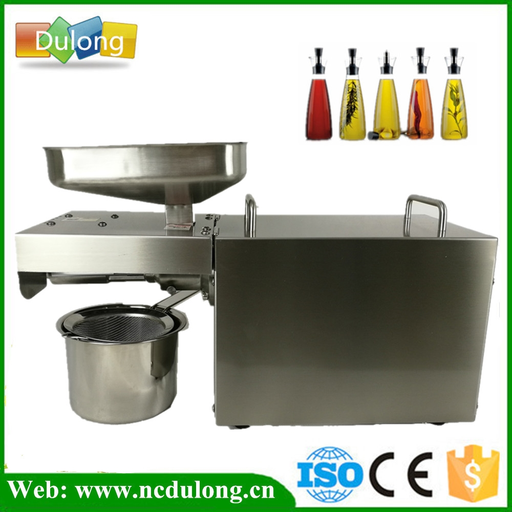 (354.93$)  Watch here - http://aibcd.worlditems.win/all/product.php?id=32801806475 - Household small screw oil press mini oil extraction machine sunflower seed soybean expeller machine price