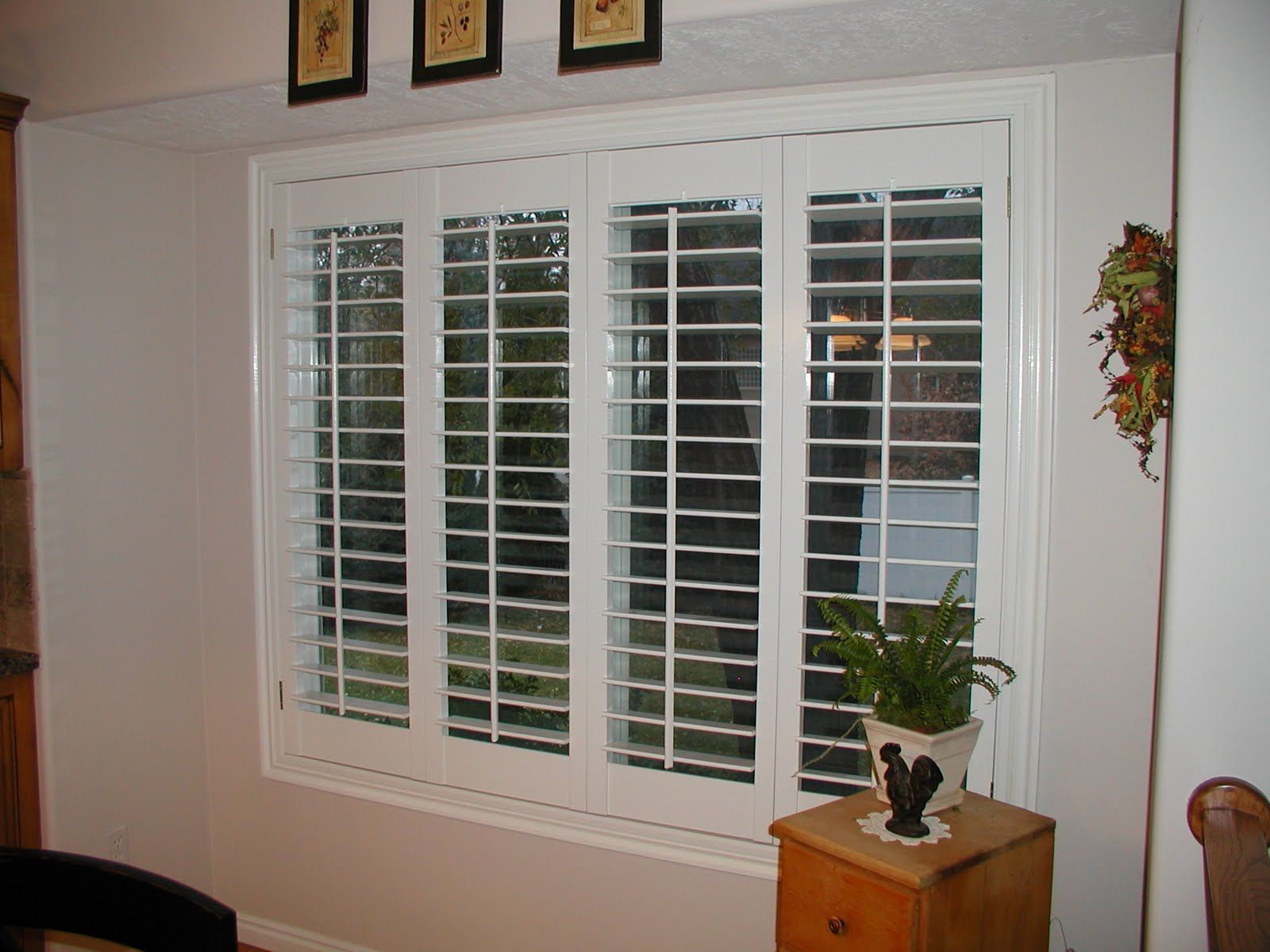 Superbe Plantation Shutters | Bi Fold Plantation Shutters Are Interiorwooden/vinyl  Shutters That Are .