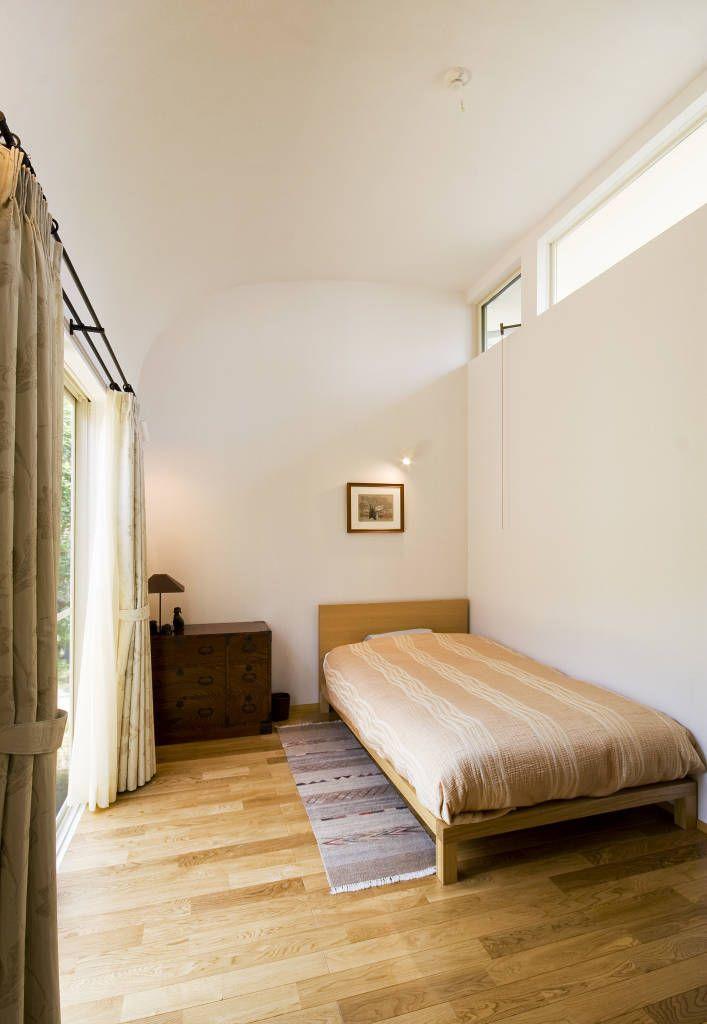 採光・通風の良い寝室 (から FURUKAWA DESIGN OFFICE)