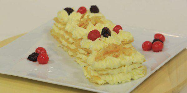 Cbc Sofra طريقة عمل جاتوه الجلاش رانيا الجزار Recipe Desserts Recipes Food