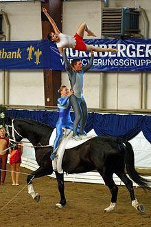Voltigieren Wikipedia Voltigieren Reiten Pferde