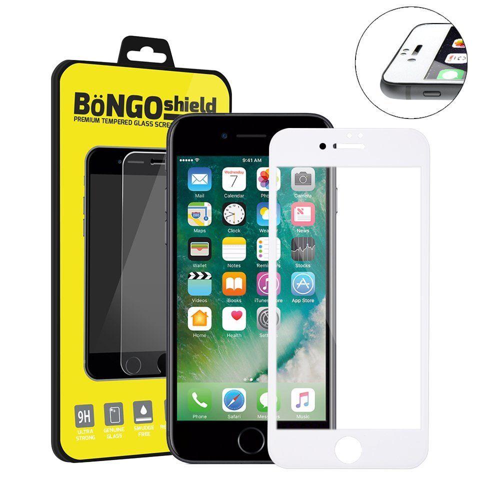 Bintek bongo shield edge 2 edge apple iphone 7 tempered