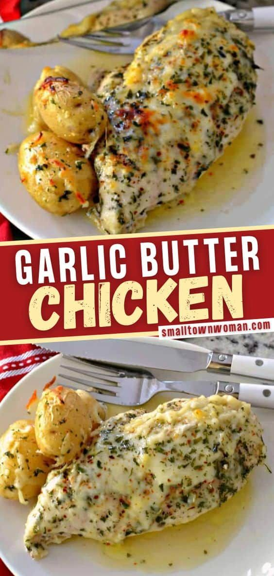 Garlic Butter Chicken Check out this easy recipe y