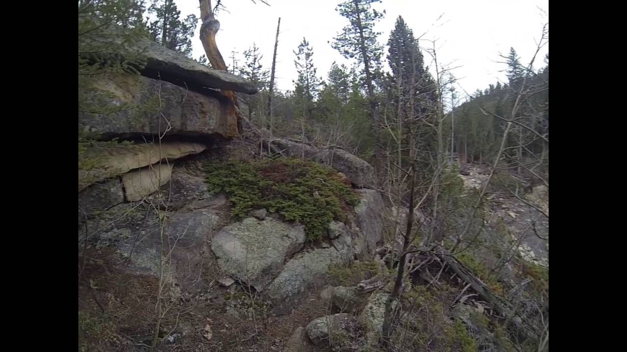 Trail of Highways™ RMNP West Creek Waterfalls North Boundary Trail In an...