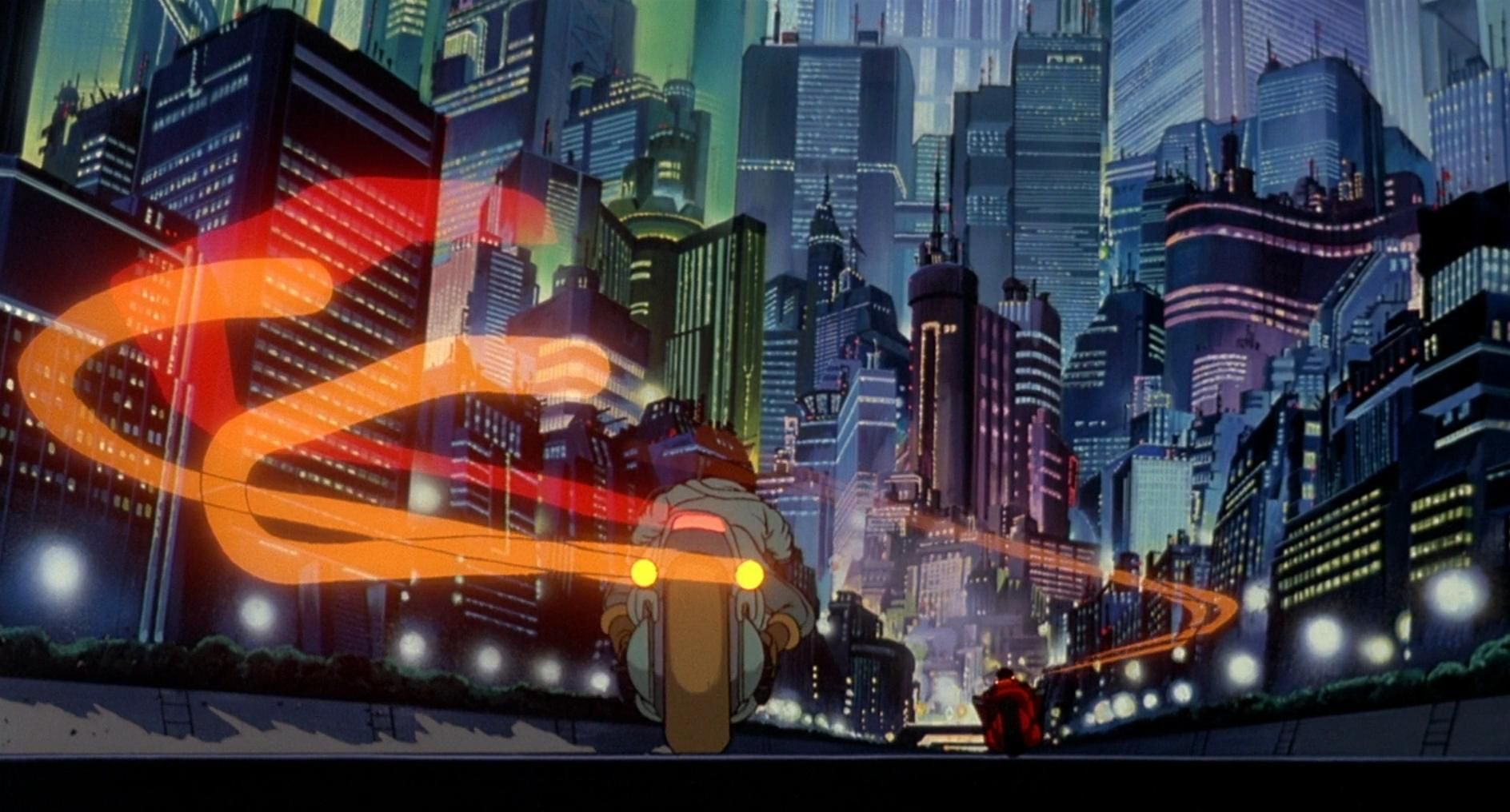 Akira | Akira, Anime scenery, Anime scenery wallpaper