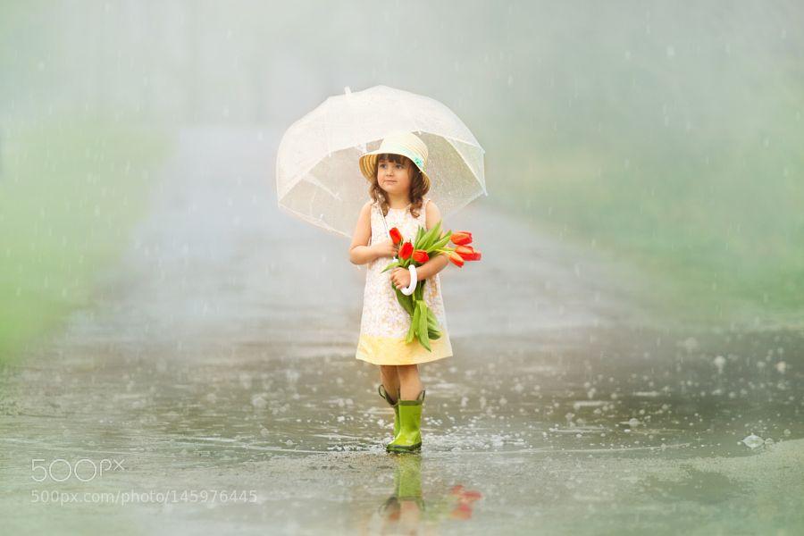 Singing in the Rain by KittySchaub. @go4fotos