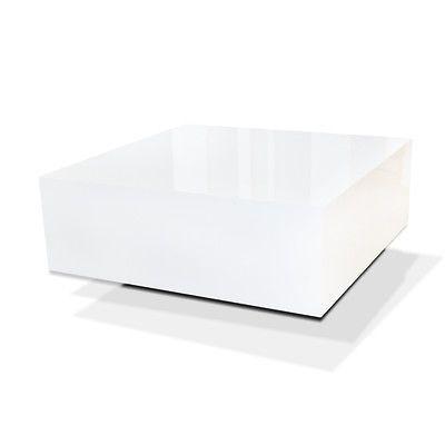 Neu Tisch Couchtisch Weiß Hochglanz Wohnzimmertisch Beistelltisch