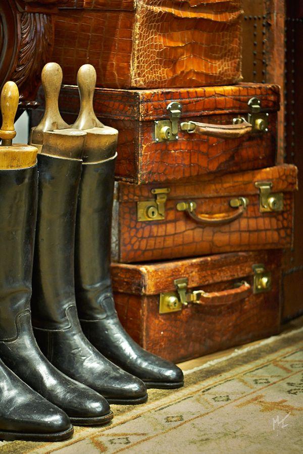 Ralph Lauren Home Ralph Lauren Home Vintage Suitcases