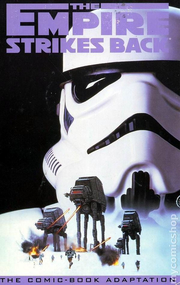 Classic Star Wars Empire Strikes Back TPB (1995 Dark Horse) 1-1ST