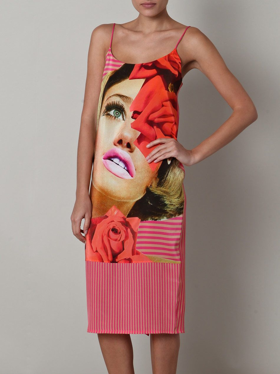Richard Nicoll - Linder Sterling rose dress