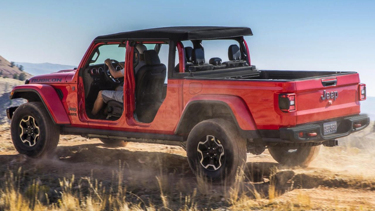 2020 Jeep Gladiator Variant Wise Price List Jeep Gladiator