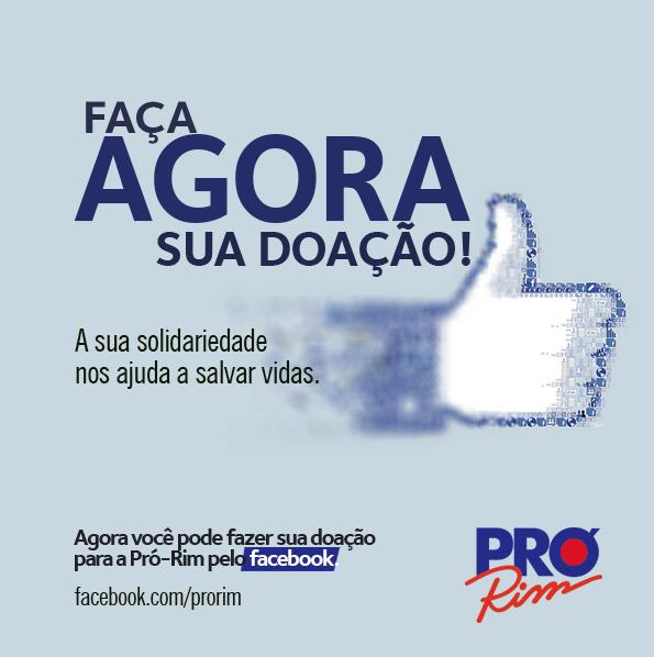Facebook Doacao Online Pro Rim Com Imagens Salva Vidas