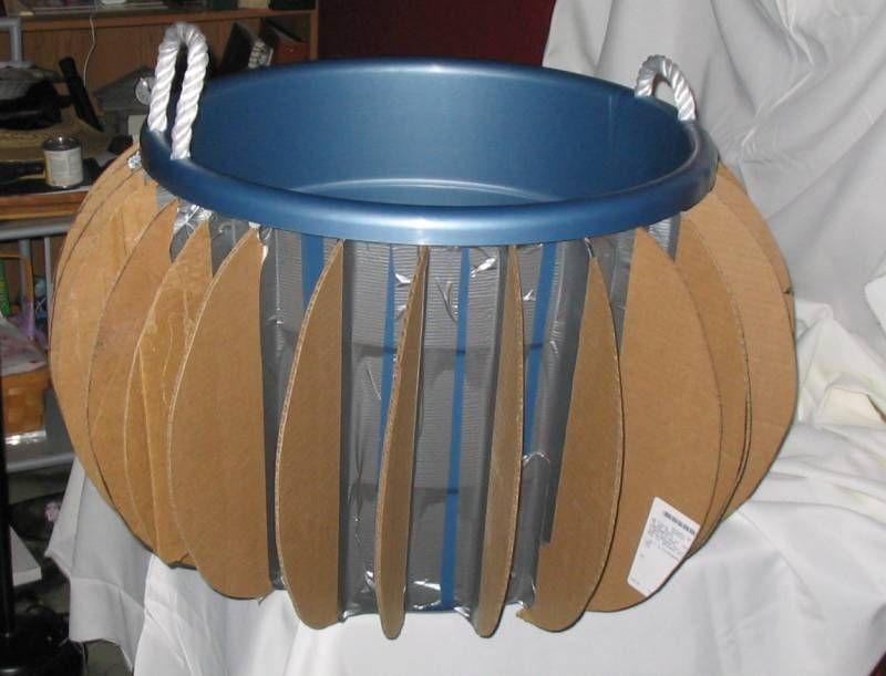 how to make a cauldron costume
