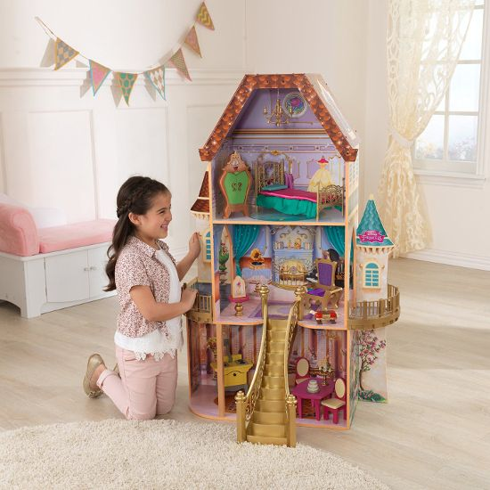 Large Dollhouses For Barbie Size Dolls Little House For Little
