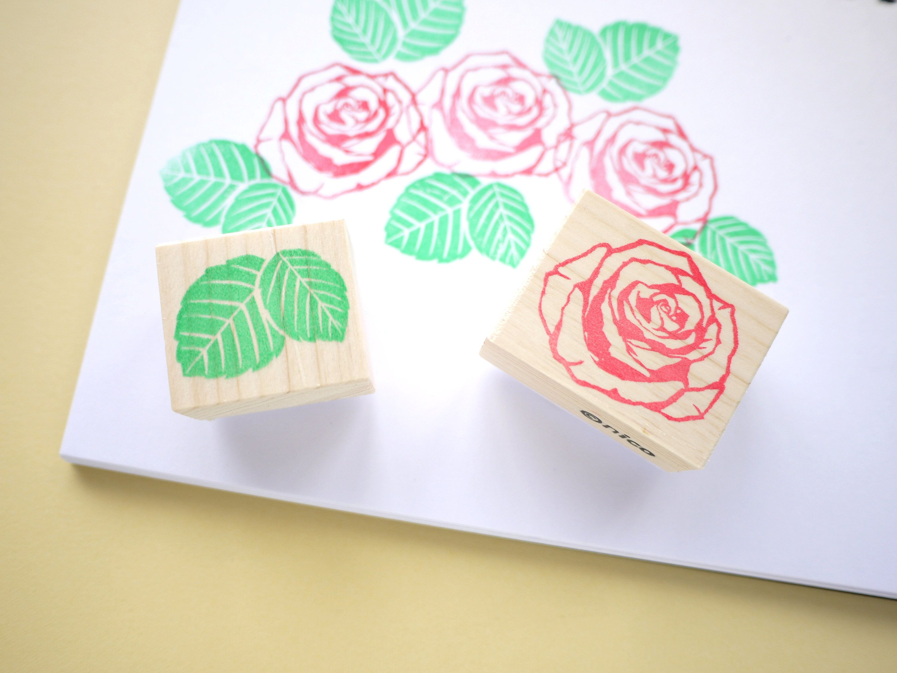 Rose wedding invitation stamp set, Japanese sationery, Wedding ...