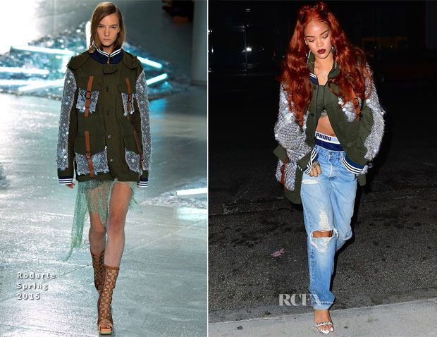 Rihanna In Rodarte – Out In New York City | Red carpet ...