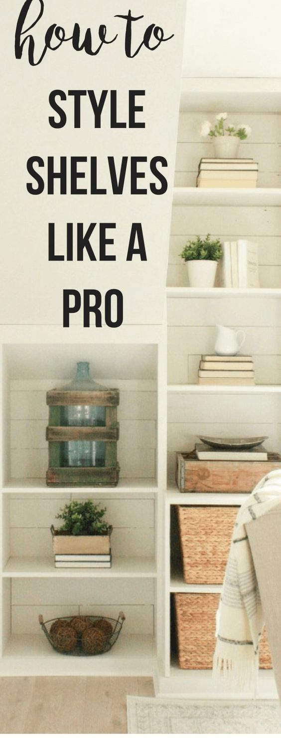How to Style Decorative Wall Shelves Like a Designer is part of Home Accessories Decor Shelves - Want to learn how to style decorative wall shelves like a designer  Try these simple solutions to create beautiful spaces in your home
