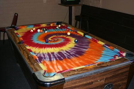 Hippie Pool Table.