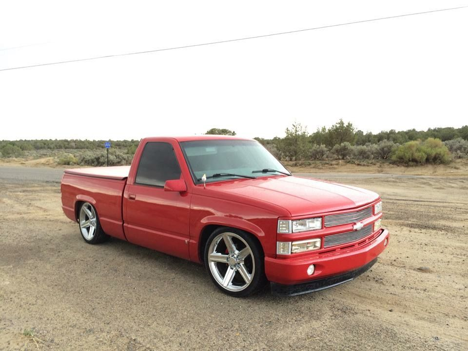 My Old C1500 Obs Lilred 5 7 Suelo Chevy Trucks Silverado Custom Chevy Trucks Chevy Trucks