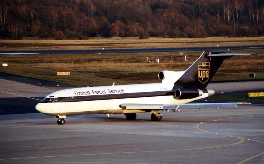 Pj De Jong Pj On Cargo Airlines Ups Airlines Air Photo