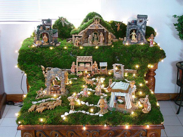 Fontanini Creche Christmas Tree Decorations Christmas Crib Ideas Christmas Nativity Scene