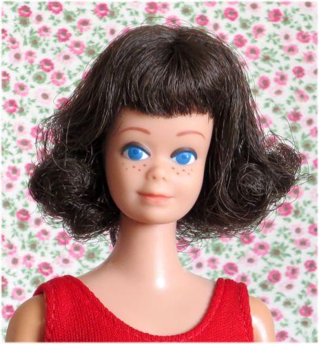 Suesse Alte Braunhaarige 0860 Midge Barbie 1964 Vintage Japan