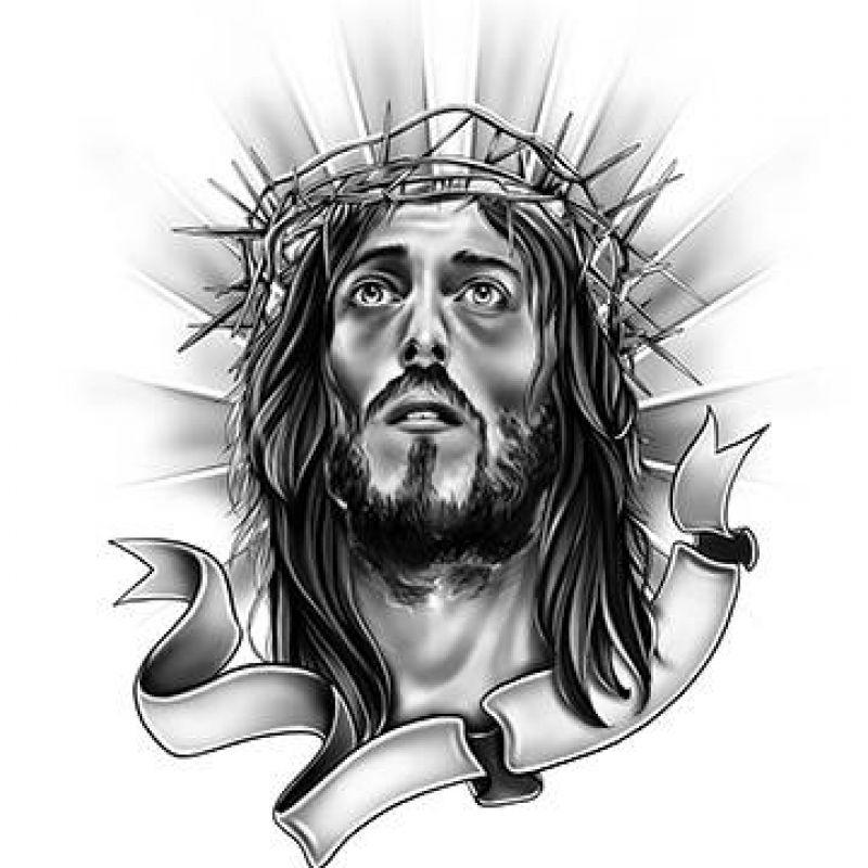 Jesus Tattoo Designs Lionel Messi Jesus Tattoo Design