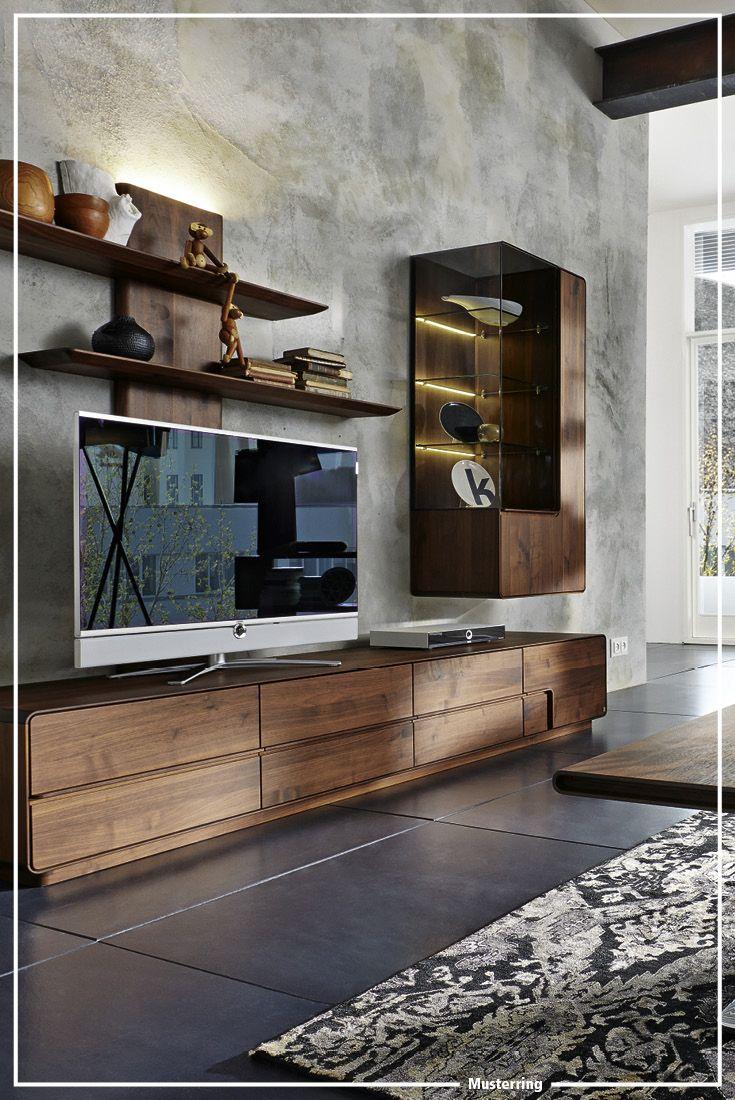 Musterring Dakota Wohnzimmer Living Room Tvs Pinterest Tvs  # Meuble Tv Oceania