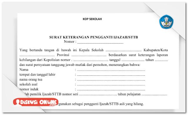 Contoh Surat Pernyataan Kehilangan Barang Inventaris ...