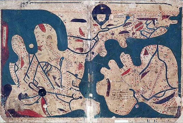 Top 10 maps from muslim civilisation when north was south and south an islamic world map late or early century from an century original this is part of an anonymous treatise entitled the book of curiosities gumiabroncs Images