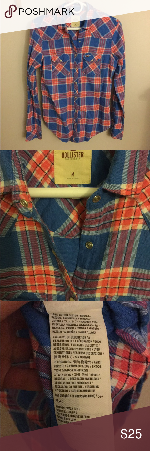 Red flannel unbuttoned  Hollister Flannel Shirt  My Posh Picks  Pinterest  Flannel shirts