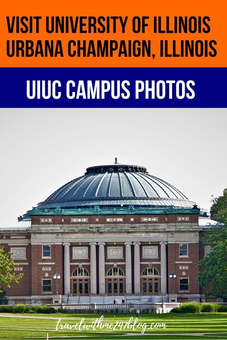 University Of Illinois Urbana Champaign Virtual Tour Uiuc Campus
