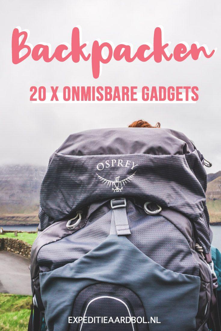 Photo of Backpack gadgets: 20 x onmisbaar tijdens het backpacken