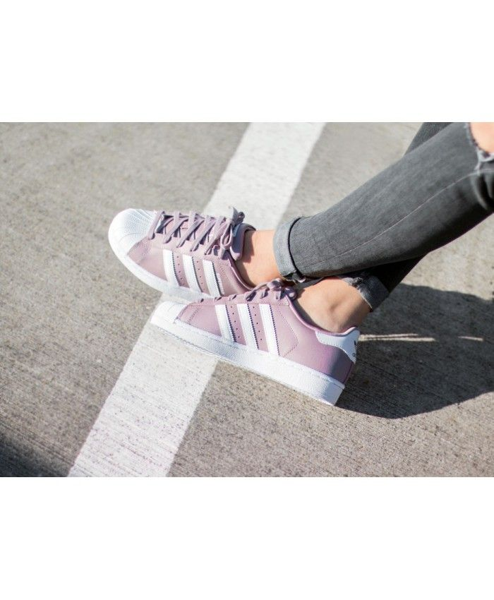 Adidas Superstar W Pink S76155 Shoes Design is very unique ...