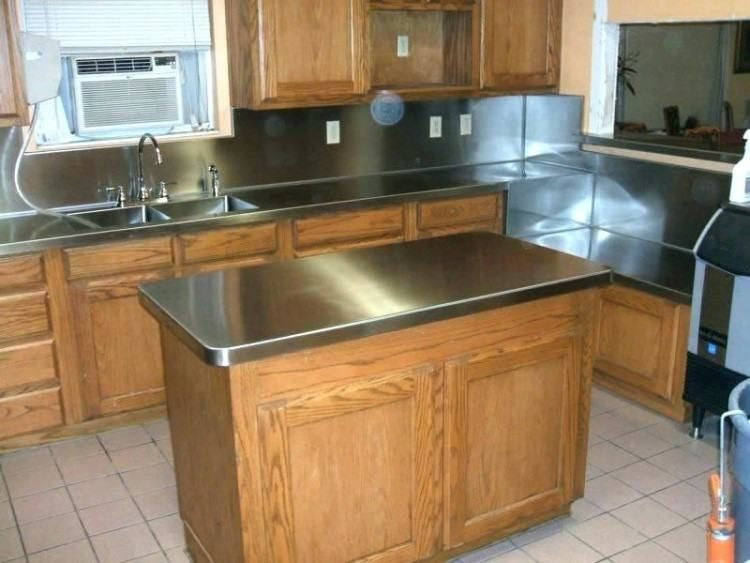 Kitchen Counter Replacement Ideas | Kitchen | Stainless ...